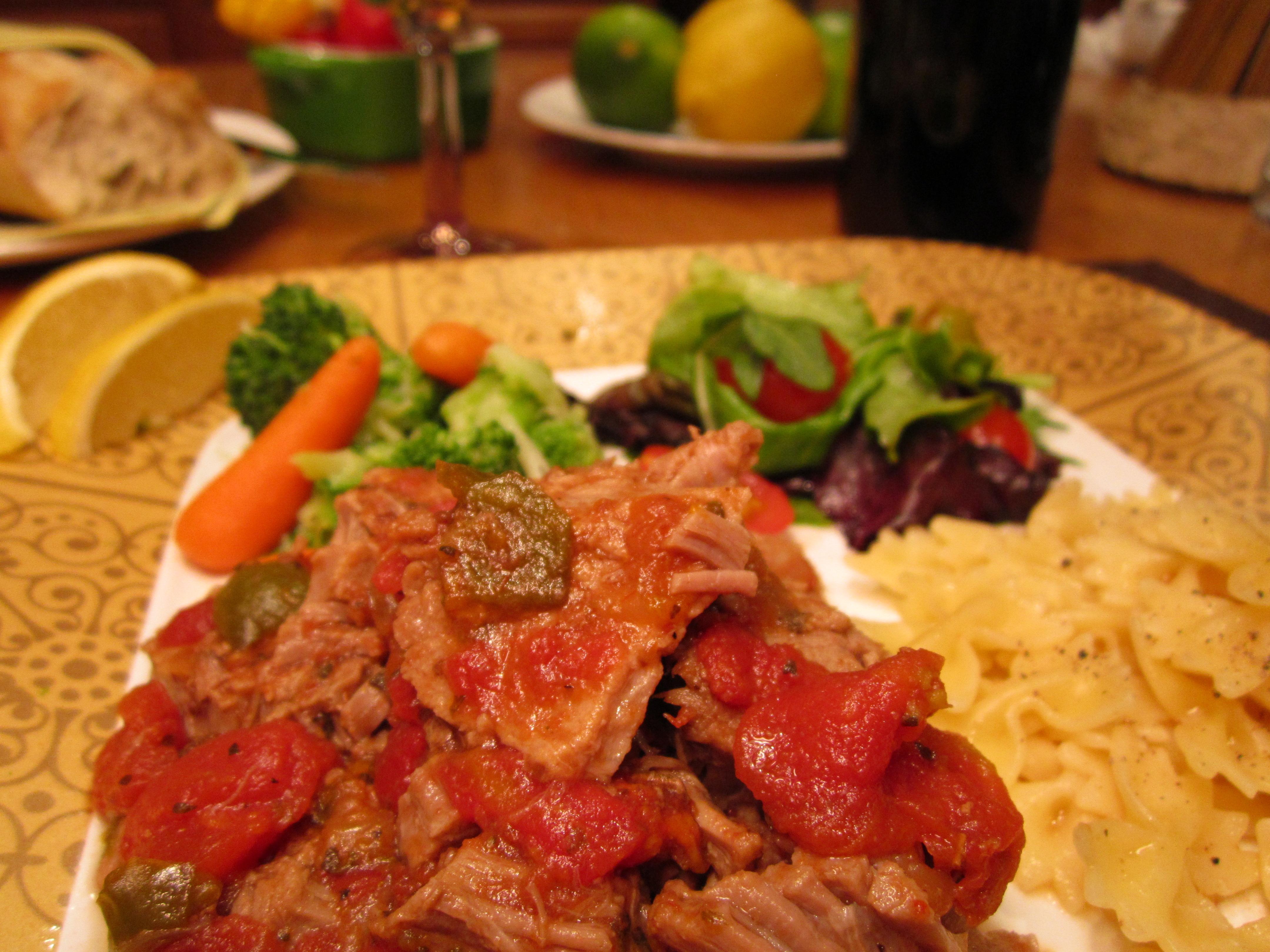 Italian beef entr e jesben for Italian entree recipes